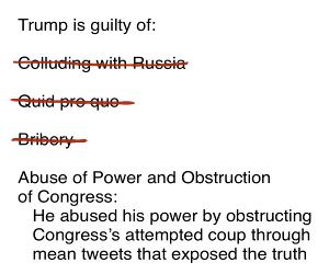 Trump Is Guilty Of