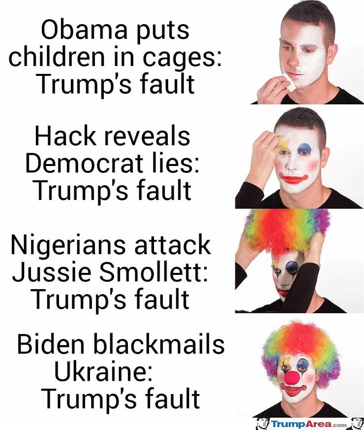 Trumps Fault