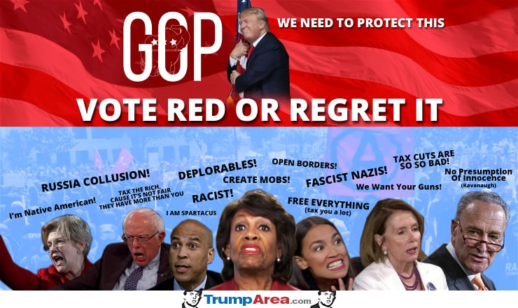 Vote Red Or Regret It