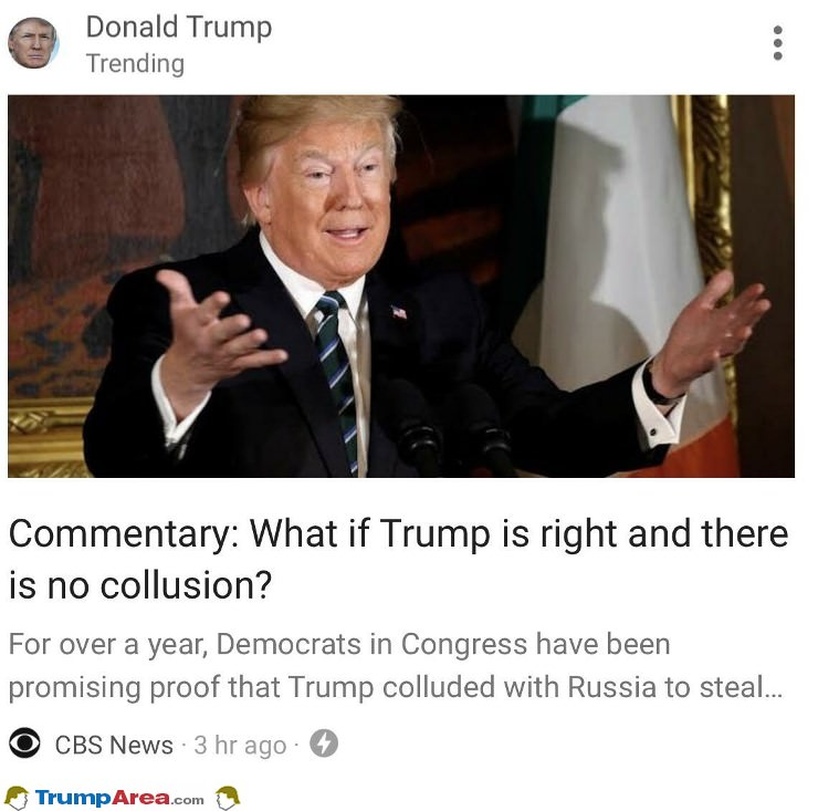 What If Trump Is Right