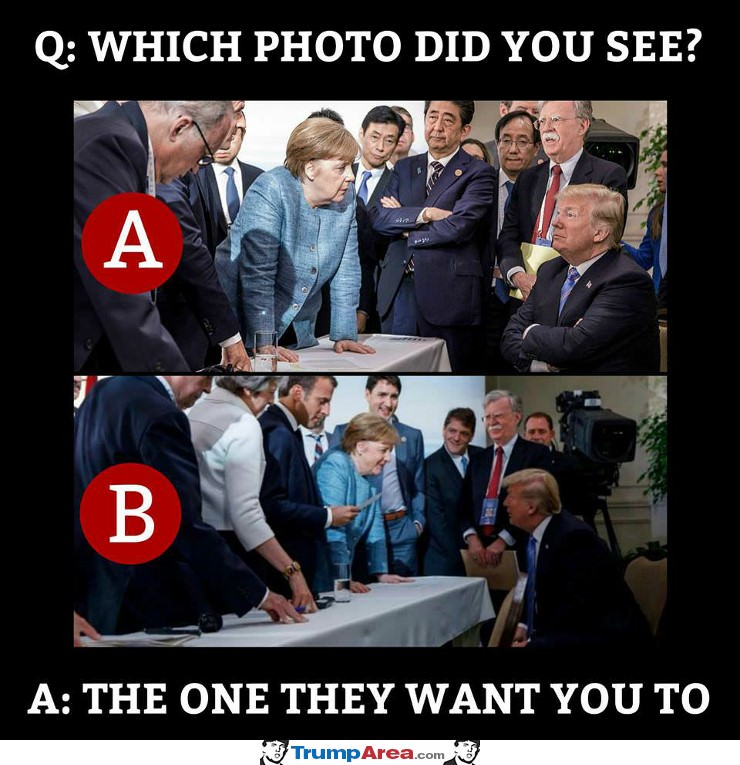 Which Photo Did You See