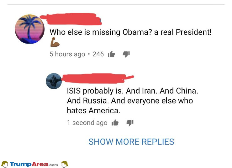 Who Is Missing Obama