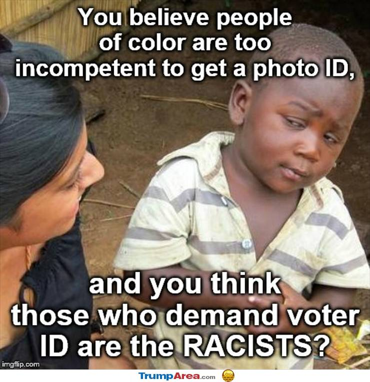 Who Is The Racist Now
